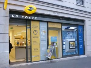 フランスの郵便物