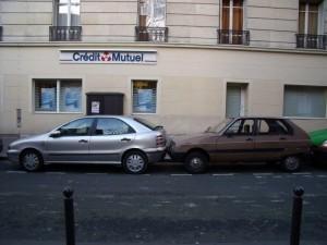 【パリの駐車場情報】フランス人の芸術的&驚愕の車庫入れテクニック