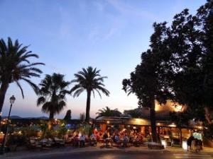 Bormes les Mimosasレポート(4)ボルム・レ・ミモザの美しい夜景が見られる場所