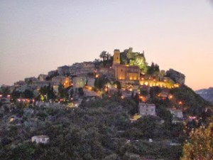 南フランス「鷲の巣村」Eze(エズ)観光レポート(5)夕暮れの景色
