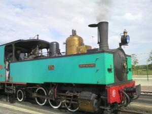 ソンム湾鉄道 蒸気機関車でサン・バレリー・シュル・ソンムへの旅
