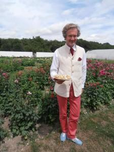 Le royaume de la tomate où le prince est jardinier