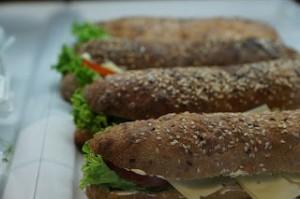 Le sandwich de la pause midi