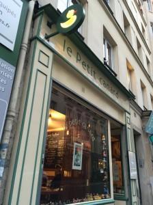 パリのレストラン(2)おすすめ鴨料理の店Le petit canard!日本語メニューも!