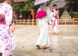 Des touristes comme s'il en pleuvait !
