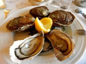 モン・サン=ミッシェルの旅(2)シャトーホテルのレストラン「ル・コキヤージュ」