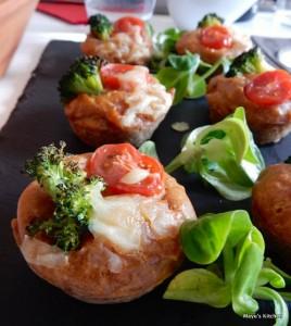 ピクニックに!「お花畑のケーク・サレ(塩ケーキ)」のレシピ