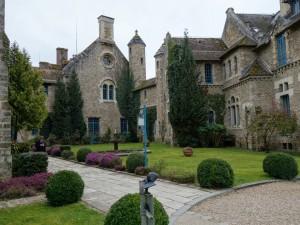 自然豊かな街Rambouillet2 静寂に包まれた修道院跡