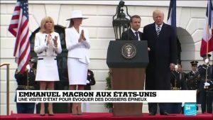 マクロン大統領、アメリカ訪問の成果は?ブリジット夫人はファッション外交