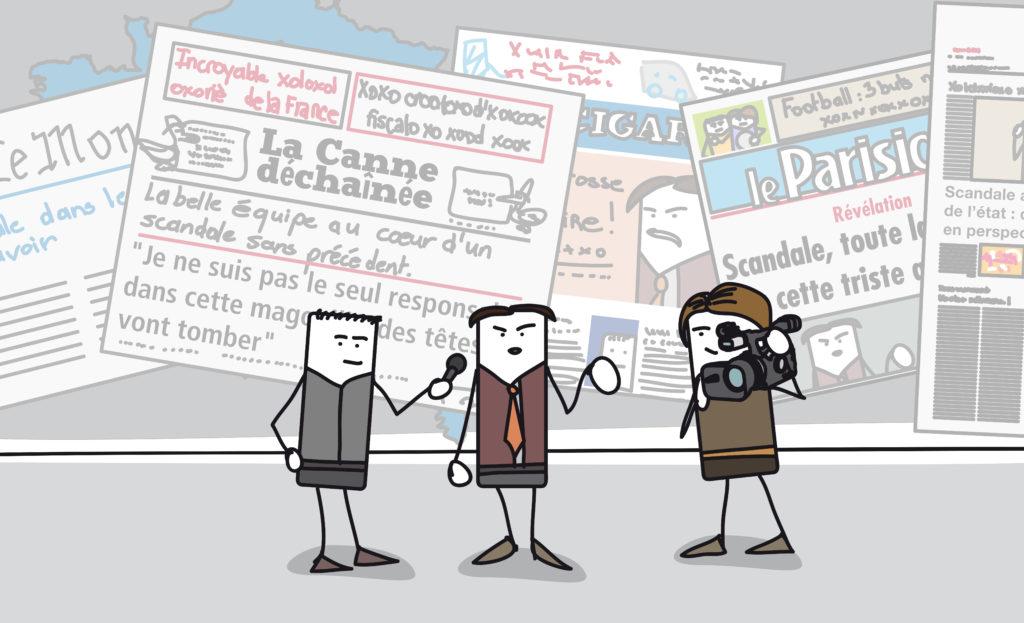 フランス語の新聞を読んでみよう!その1:フランスの新聞の種類