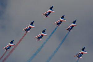 世界最大規模「パリ航空ショー」始まる 国産旅客機「スペースジェット」塗装で初展示