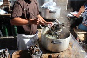 リールでムールと蚤の市 その消費量、2日間でおよそ500トン