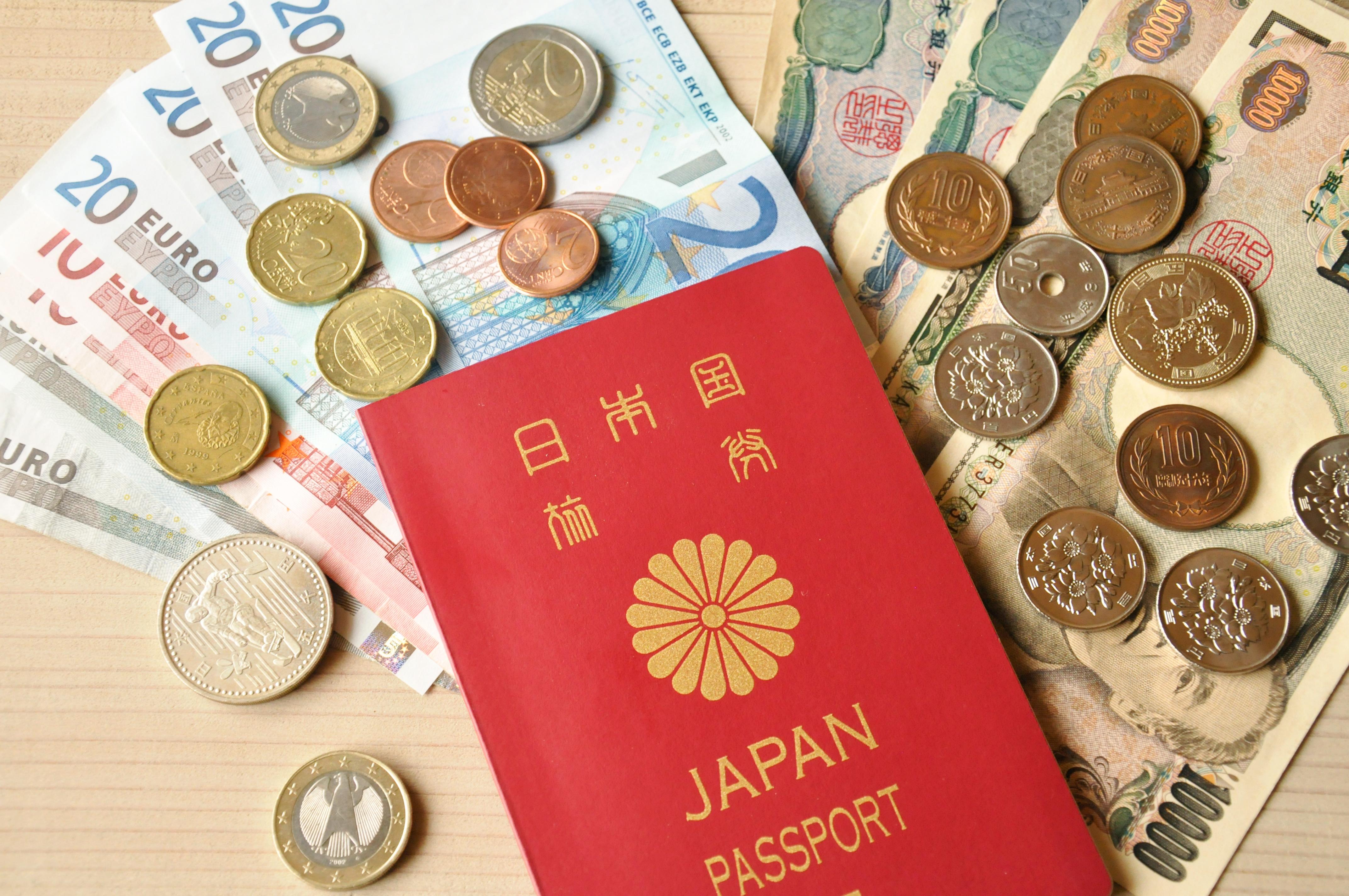 パスポート 円ユーロ