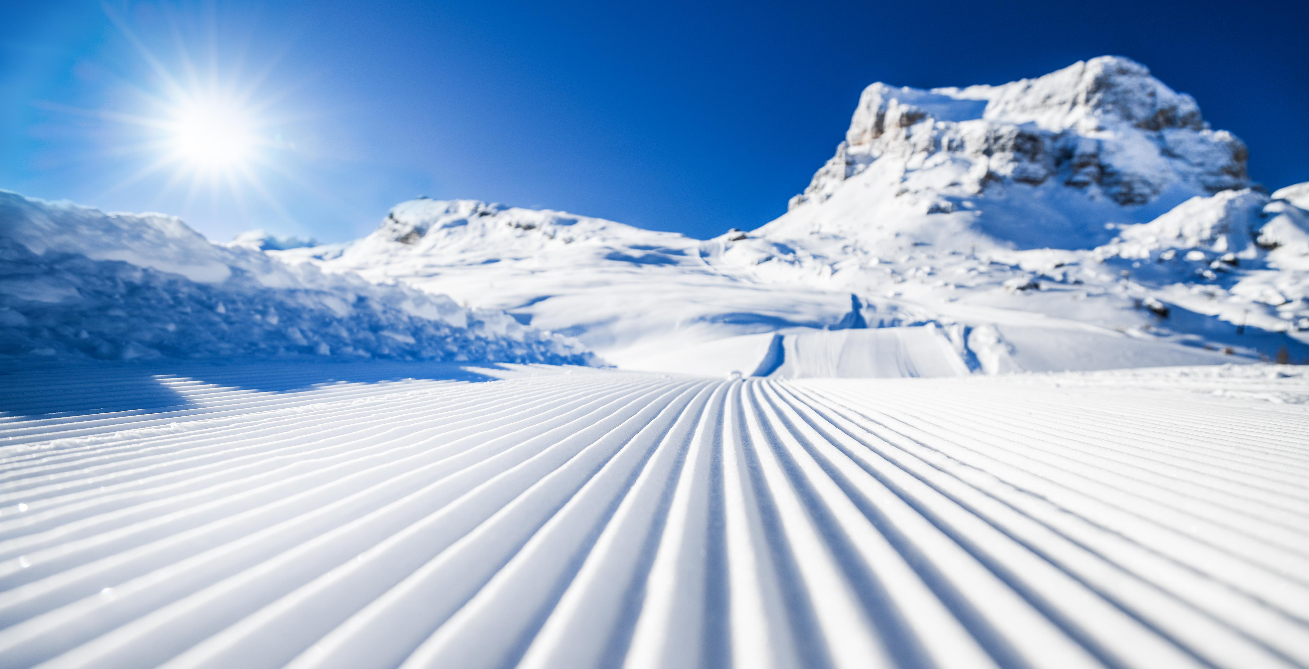 スキーの軌跡