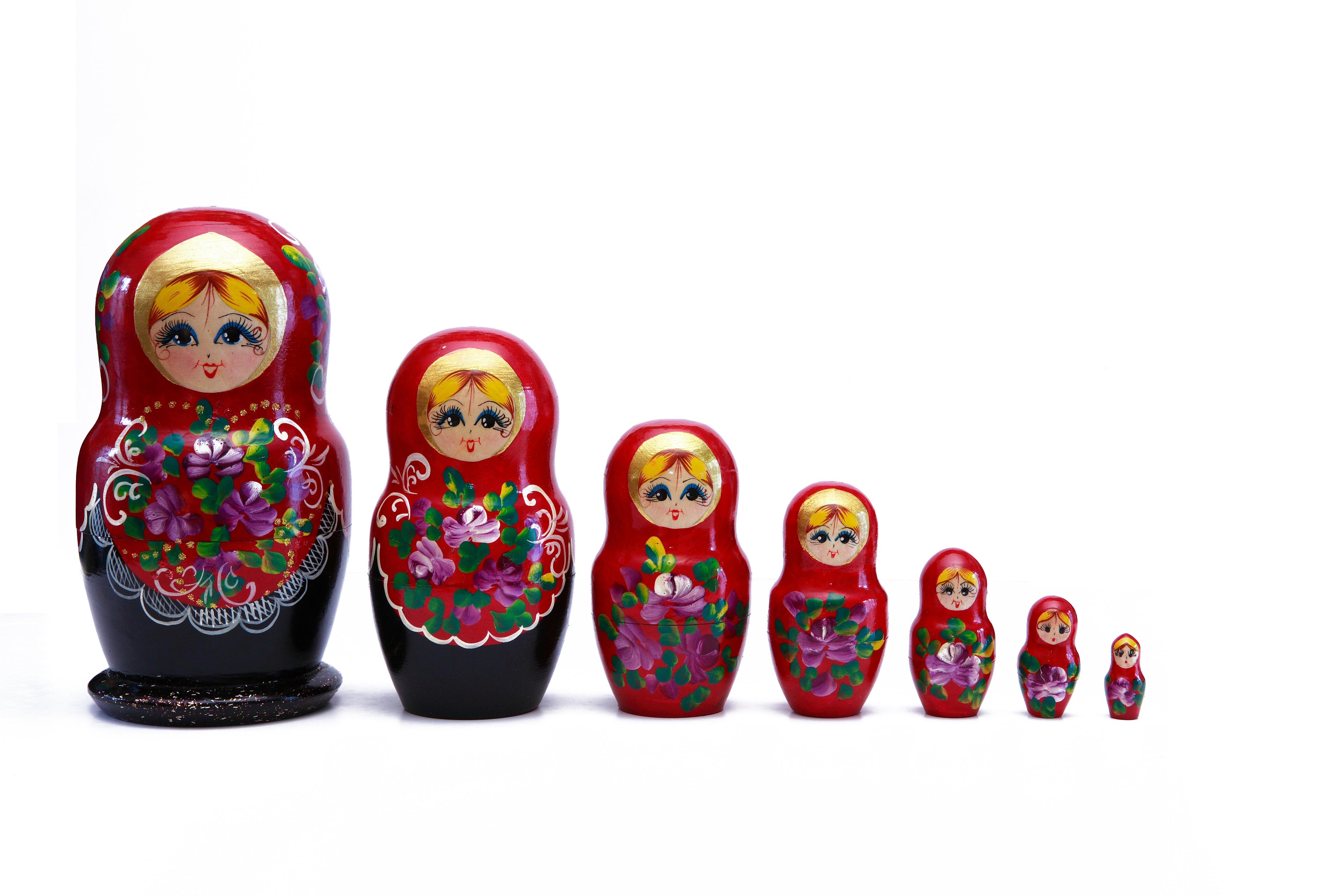 マトリョーシカ 小さい人形