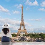 コロナ禍の夏 パリの外国人観光客