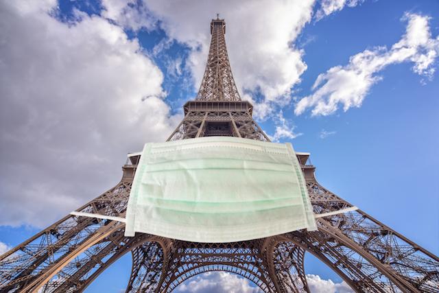 パリ、全面的にマスク着用義務