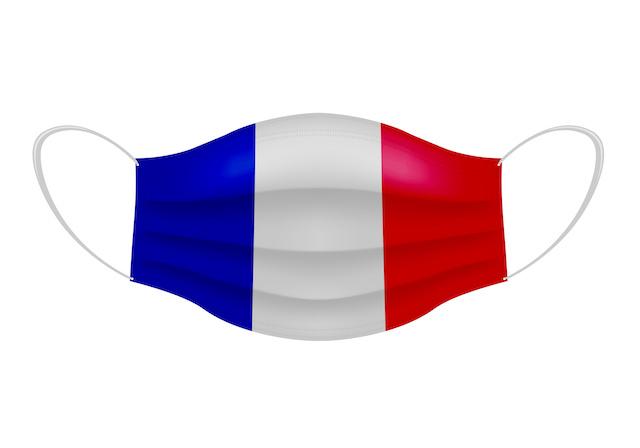 フランス 夜間外出禁止18時より