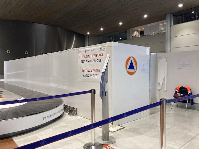 ド・ゴール空港 PCR検査場