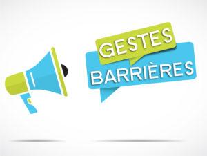フランスの感染症予防策 les gestes barrières