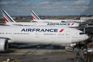 エールフランス国内線(海外県含む)搭乗前にコロナパスポート情報
