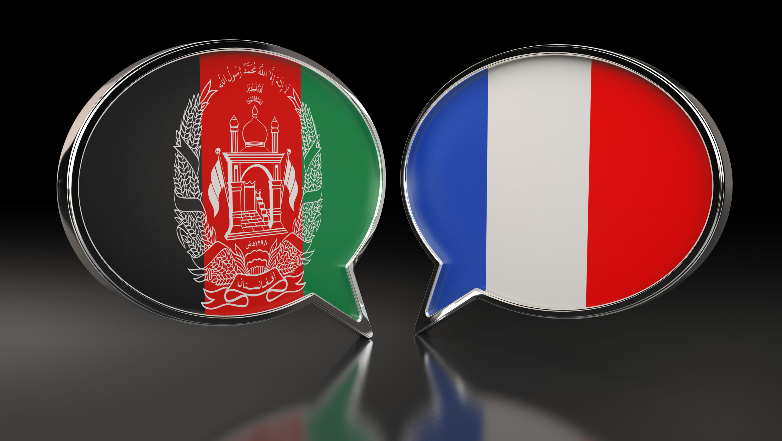 アフガニスタン フランス 国旗